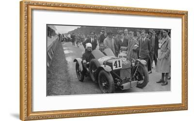 Amilcar of Goldie Gardner at the Irish Grand Prix, Phoenix Park, Dublin, 1930-Bill Brunell-Framed Photographic Print