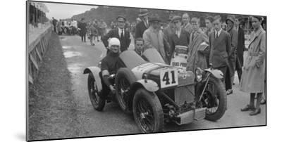Amilcar of Goldie Gardner at the Irish Grand Prix, Phoenix Park, Dublin, 1930-Bill Brunell-Mounted Photographic Print
