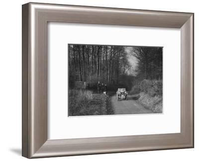 MG M Type competing in the MG Car Club Trial, 1931-Bill Brunell-Framed Photographic Print