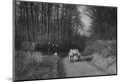 MG M Type competing in the MG Car Club Trial, 1931-Bill Brunell-Mounted Photographic Print
