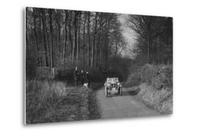 MG M Type competing in the MG Car Club Trial, 1931-Bill Brunell-Metal Print