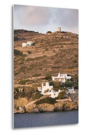 A Tiny Village on the Cycladic Island of Amorgos in Greece-Krista Rossow-Metal Print
