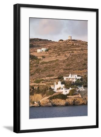 A Tiny Village on the Cycladic Island of Amorgos in Greece-Krista Rossow-Framed Photographic Print