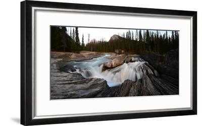 Natural Bridge over Kicking Horse River in Yoho National Park-Raul Touzon-Framed Photographic Print