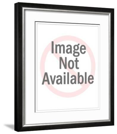 A Gray Wolf, Canis Lupus, in Yellowstone National Park, Wyoming-Ronan Donovan-Framed Photographic Print