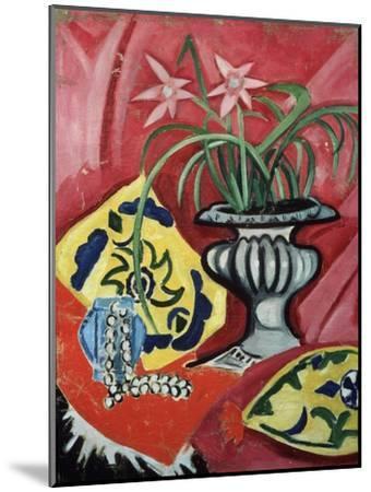 Still life with vase. 1912-Olga Rozanova-Mounted Giclee Print