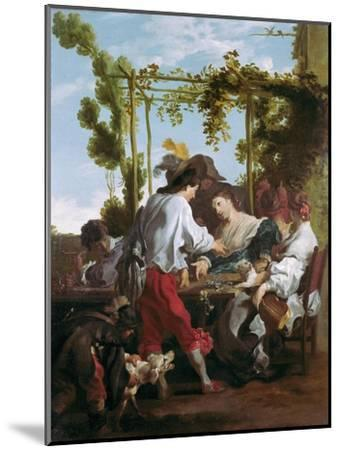 The Morra Game-Johann Liss (Lys)-Mounted Giclee Print