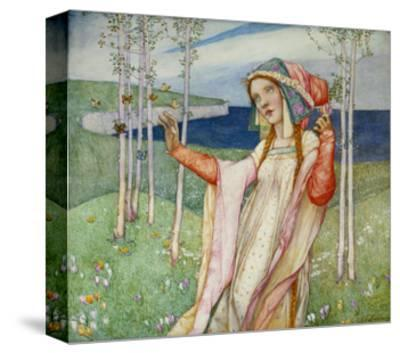 Spring. 1911-Edward Reginald Frampton-Stretched Canvas Print