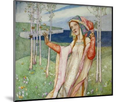Spring. 1911-Edward Reginald Frampton-Mounted Giclee Print