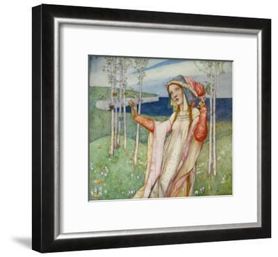 Spring. 1911-Edward Reginald Frampton-Framed Giclee Print