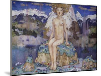 Love in the Alps-Edward Reginald Frampton-Mounted Giclee Print