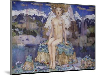 Love in the Alps-Edward Reginald Frampton-Mounted Giclee Print