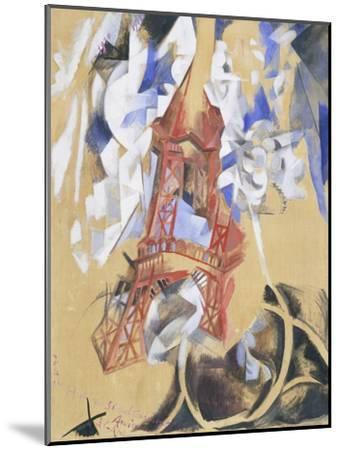 Tour Eiffel. 1910 - 11-Robert Delaunay-Mounted Giclee Print