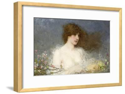 A Spring Idyll. 1901-George Henry Boughton-Framed Giclee Print