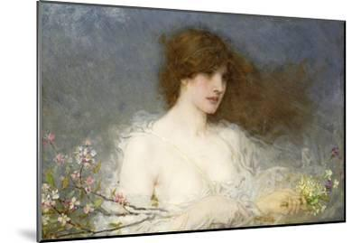A Spring Idyll. 1901-George Henry Boughton-Mounted Giclee Print