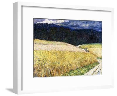 Kallmünz - Gewitterstimmung (Die Postkutsche). 1904-Wassily Kandinsky-Framed Giclee Print