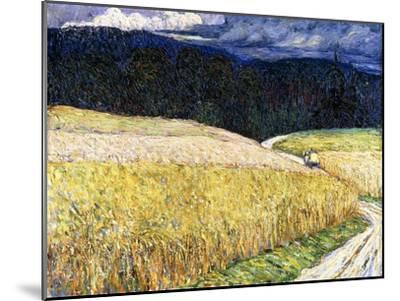 Kallmünz - Gewitterstimmung (Die Postkutsche). 1904-Wassily Kandinsky-Mounted Giclee Print