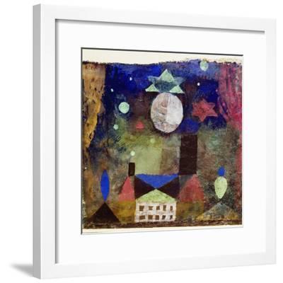 Stern über bösen Häusern-Paul Klee-Framed Giclee Print