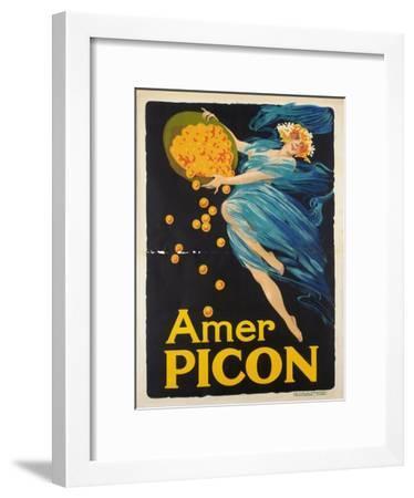 Werbeplakat für den Aperitif Amer Picon. Gedruckt von Carlos Courmont, Paris--Framed Giclee Print