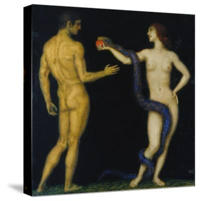 Adam und Eva-Franz von Stuck-Stretched Canvas Print