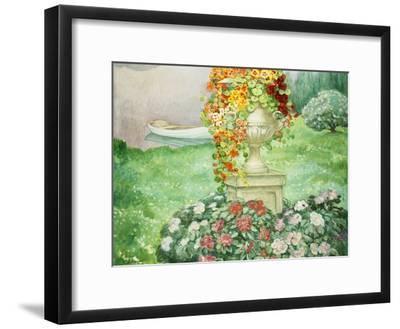 Der Garten (Le Jardin). Um 1913-Henri Lebasque-Framed Giclee Print