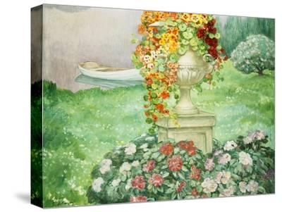 Der Garten (Le Jardin). Um 1913-Henri Lebasque-Stretched Canvas Print