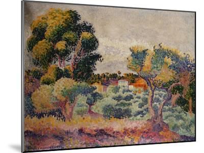 Eukalyptus und Olivenhain. 1907-Henri Edmond Cross-Mounted Giclee Print
