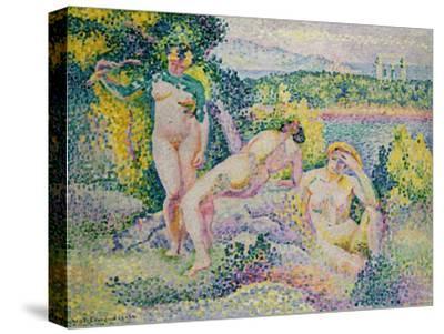 Nymphes. 1906-Henri Edmond Cross-Stretched Canvas Print