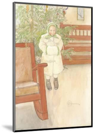 Girl and rocking chair. 1907--Mounted Giclee Print