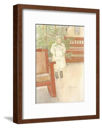 Girl and rocking chair. 1907--Framed Giclee Print