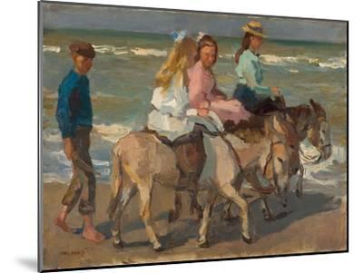 Donkey riding. 1898-1901-Isaac Israels-Mounted Giclee Print