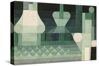 Floodgates (Schleusen). 1922--Stretched Canvas Print