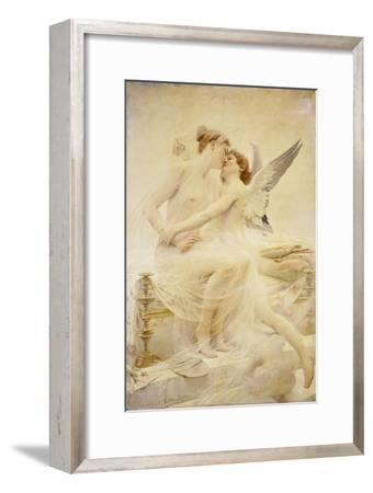 Cupid and Amor-Lionel Noel Royer-Framed Giclee Print