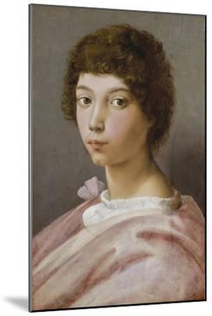 Bildnis des Alessandro Medici-Raffael Raffaello Sanzio-Mounted Giclee Print
