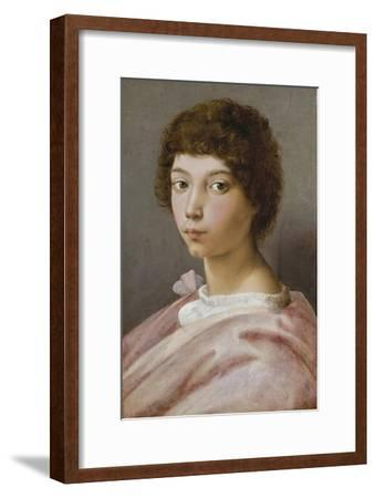 Bildnis des Alessandro Medici-Raffael Raffaello Sanzio-Framed Giclee Print