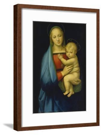 Die Madonna des Grossherzogs. Um 1500-Raffael Raffaello Sanzio-Framed Giclee Print