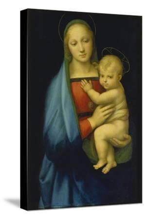 Die Madonna des Grossherzogs. Um 1500-Raffael Raffaello Sanzio-Stretched Canvas Print