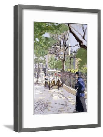 Place Vintimille. Ca. 1915--Framed Giclee Print