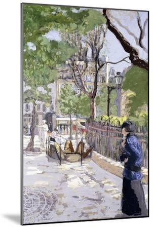 Place Vintimille. Ca. 1915--Mounted Giclee Print