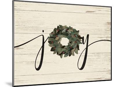 Joy Wreath-Jo Moulton-Mounted Art Print