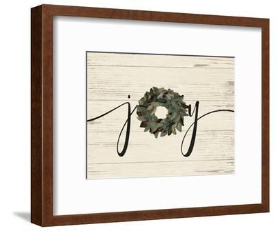 Joy Wreath-Jo Moulton-Framed Art Print
