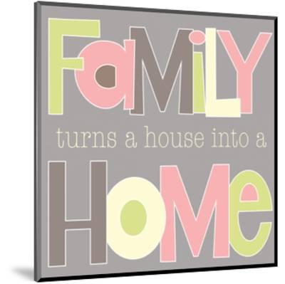 Family Turns a House-Alli Rogosich-Mounted Art Print