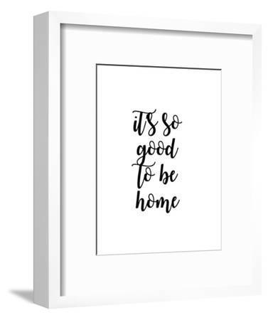 So Good to Be Home II-Anna Quach-Framed Art Print