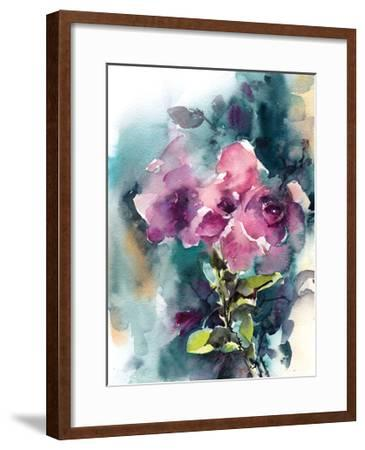Pink and Purple-Sophia Rodionov-Framed Art Print