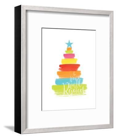 The Weary World Rejoices-Alli Rogosich-Framed Art Print
