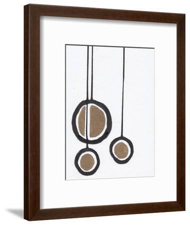 B&W with Gold-Anne Seay-Framed Art Print