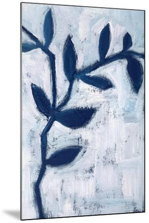 Blue and White I-Anne Seay-Mounted Art Print