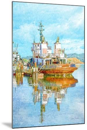 Harbor Tug-Ramona Murdock-Mounted Art Print