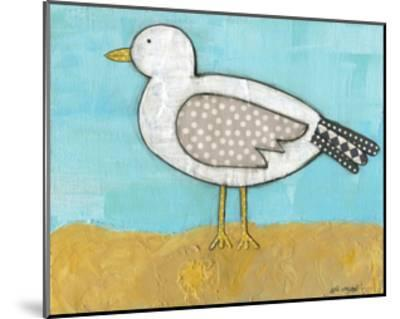 Seagull by the Seashore-Alli Rogosich-Mounted Art Print