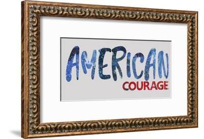 American Courage-Pamela J. Wingard-Framed Art Print